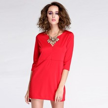Stylish Lady Party Bodycon Homecoming short red cocktail dress