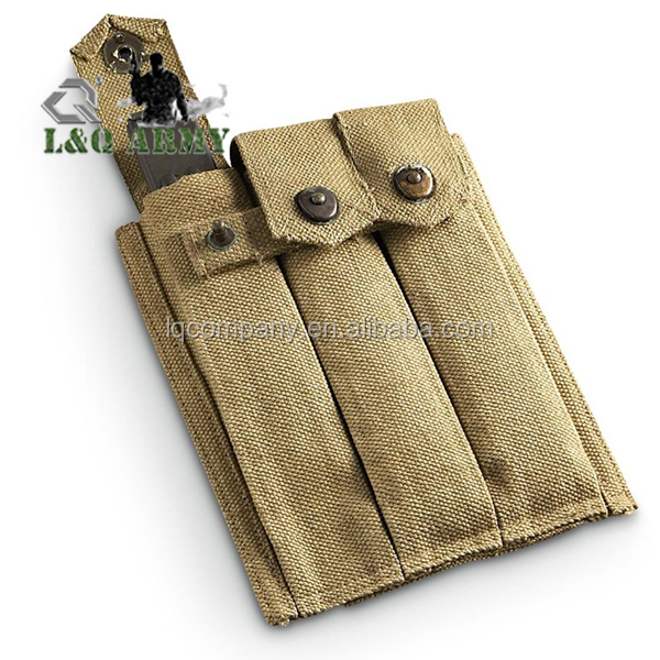 WW 2 Canvas 3 - Cell Thompson Pouch