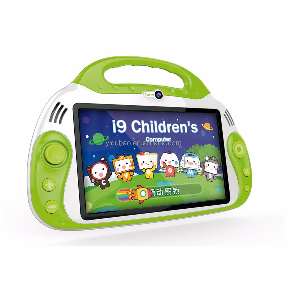 Quad core kids android tablet pc/ 7 inch kid gaming laptop computer/ kids child tablet pc