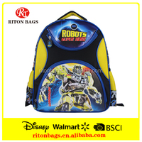 Newest Design Robots Super Hero School backpack School bags