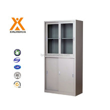 Up sliding glass door down metal sliding door steel storage filing cabinet