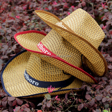 Wholesale high quality cheap fashion design western bulk straw cowboy hat