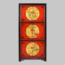 reproduction Oriental style living room painted furniture-cabinet new design Beijing
