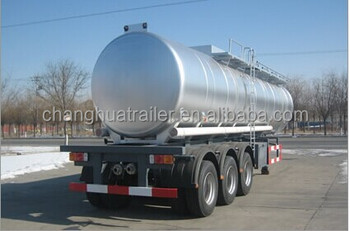 milk trailer with Spray System the factory directly sale