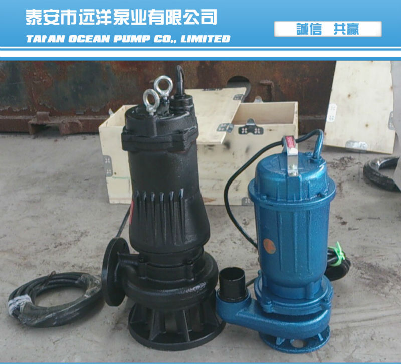 electric centrifugal submersible sewage collection pump