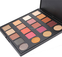 Wholesale Beauty Makeup 20 Color Private Label Eyeshadow Palette Custom Cosmetics