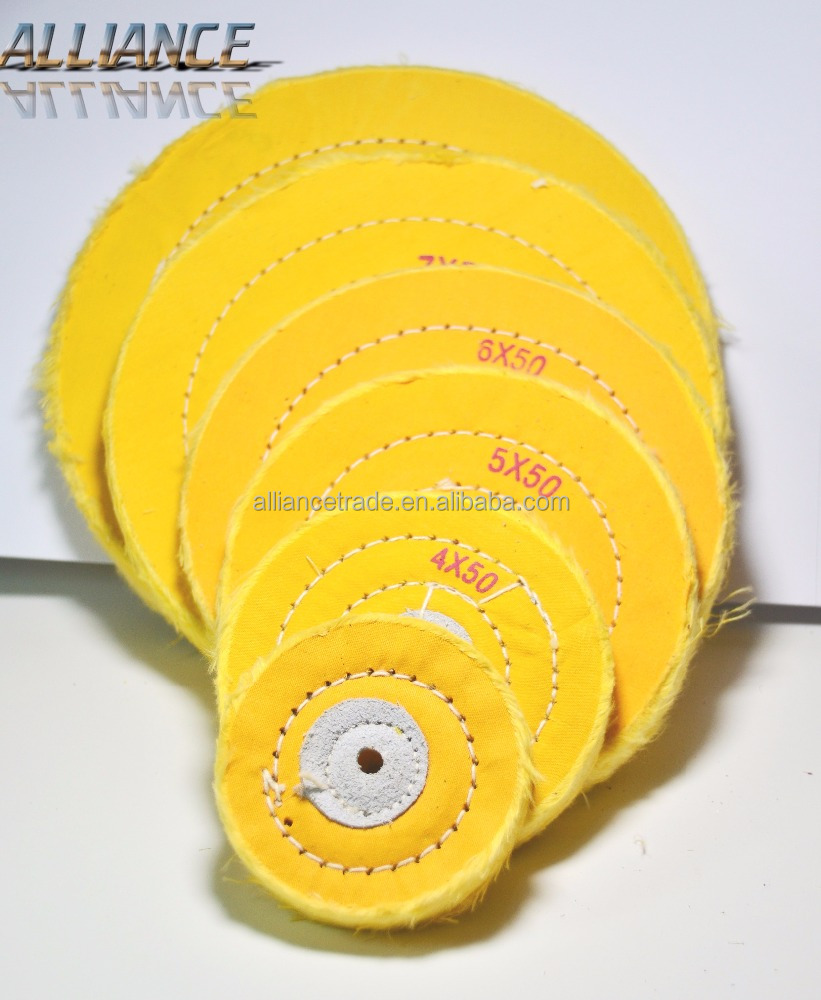 Power tool sisal cotton buff Buffing cloth wheel