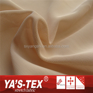 Quick Dry Knitting 90% Polyester 10% Spandex Mesh Fabric For Outdoor Sportswear