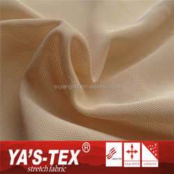 Quick Dry Knitting 90% Polyester 10% Spandex Lycra Mesh Fabric For Outdoor Sportswear