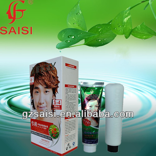 professional Natrual black Hair Color cream 3 in 1