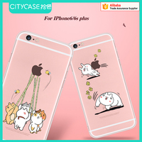city&case 2016 new cartoon tpu phone case for iPhone6 6s