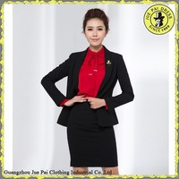 Women office uniform designs dresses suit shirt and skirt