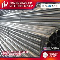bs 1387 galvanized pipe professional supplier