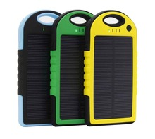 Universal mini portable mobile battery charger solar powerbank