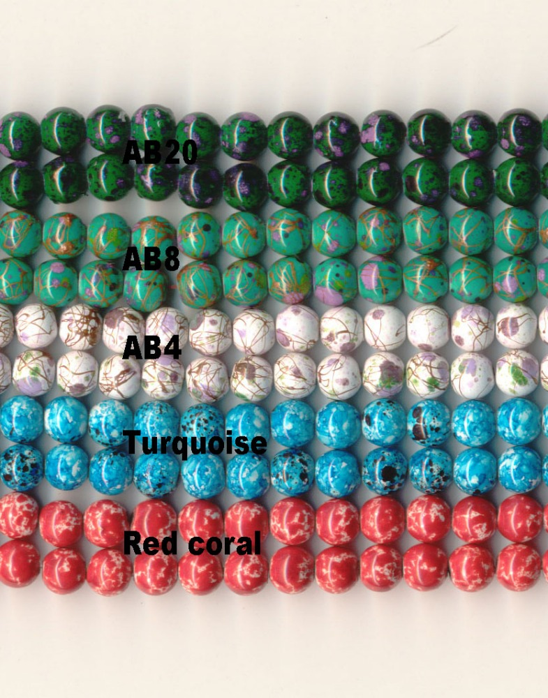 Custom Magnetic Marbleized Beads