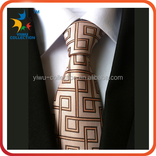 2015 latest stripe Polyester necktie for man business suit