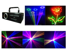 Full Color Animation ILDA 3000mW RGB Laser Stage Light