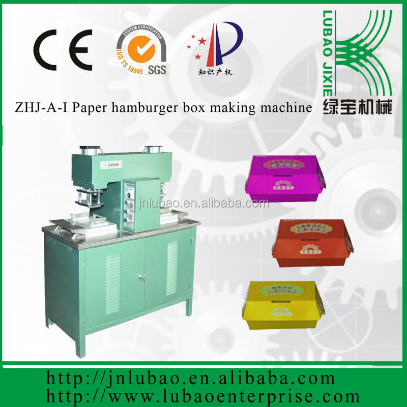 paper lunch box making machinery paper lunch box be printed logo and picture