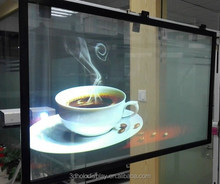 3D Holographic Projection/Quality PET Rear Projection Film /Hot Window Display