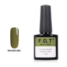 2016 FGT Professional ManufacturerEasy Soak off Free Sample UV gel nail polish