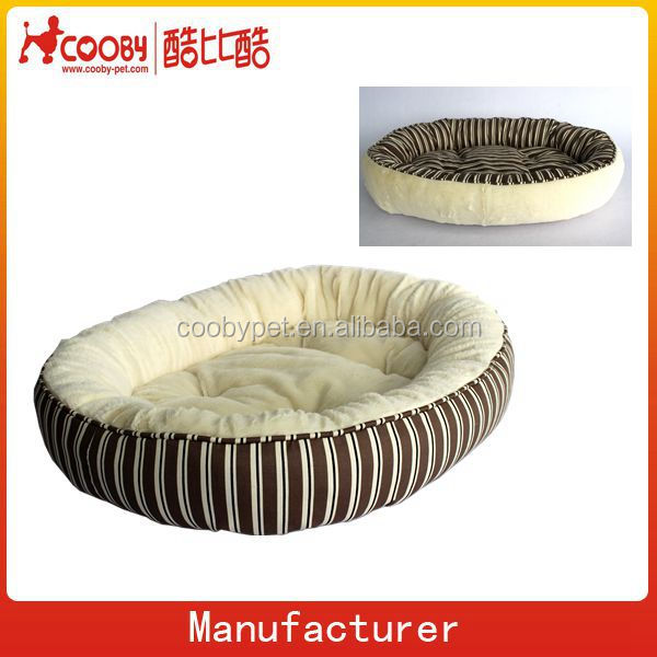 COO-2325 Factory New Pet Products Luxury Wholesale Canvas Egg Shape Double Dog House
