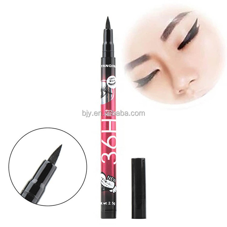 Black Waterproof Liquid Make Up Beauty Comestics Eye Liner Pen
