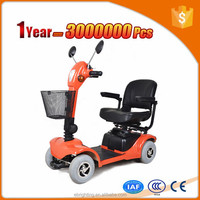 disabled electric motorcycle three seats mobility scooters 4 wheel heavy duty scooter
