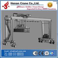 Rubber Tyre Container Gantry Crane with Special Design Spreader 30.5t/35t/40.5t