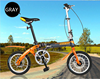 14 inch mini portable folding bike bicycle with shock absorbers