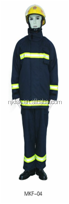 EN340:2003;EN469:2005 fire fighting suit with Aramid(Nomex)