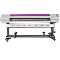 5feet 6feet high quality large format eco solvent printer with Epson dx5 DX7 5113 printhead