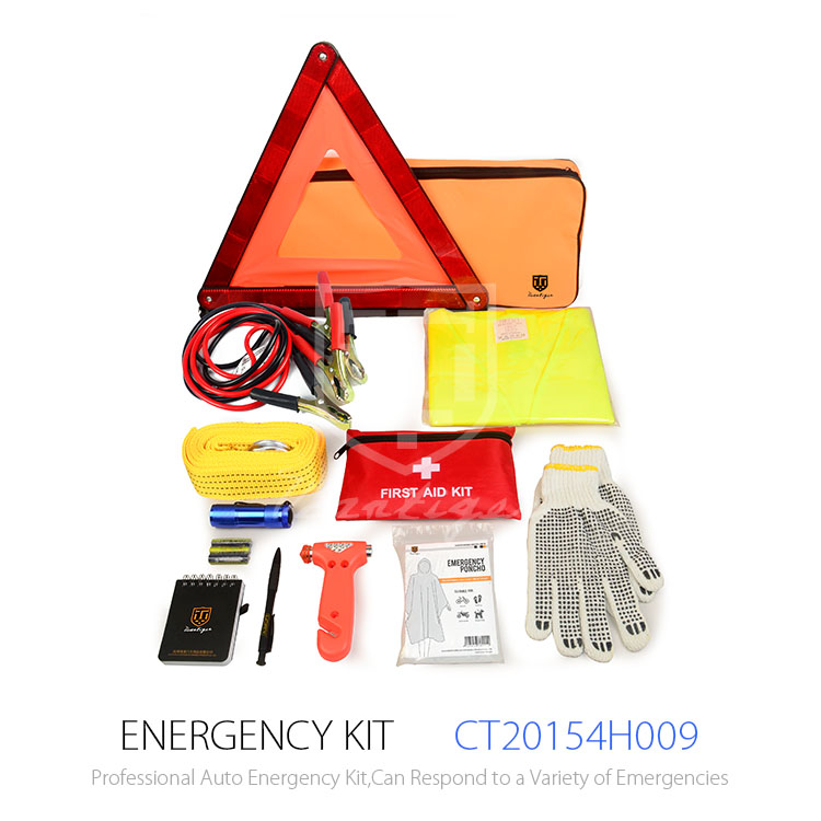 35PCS Printing Logo Road Safety Emergency Car Kit For Roadside Repair