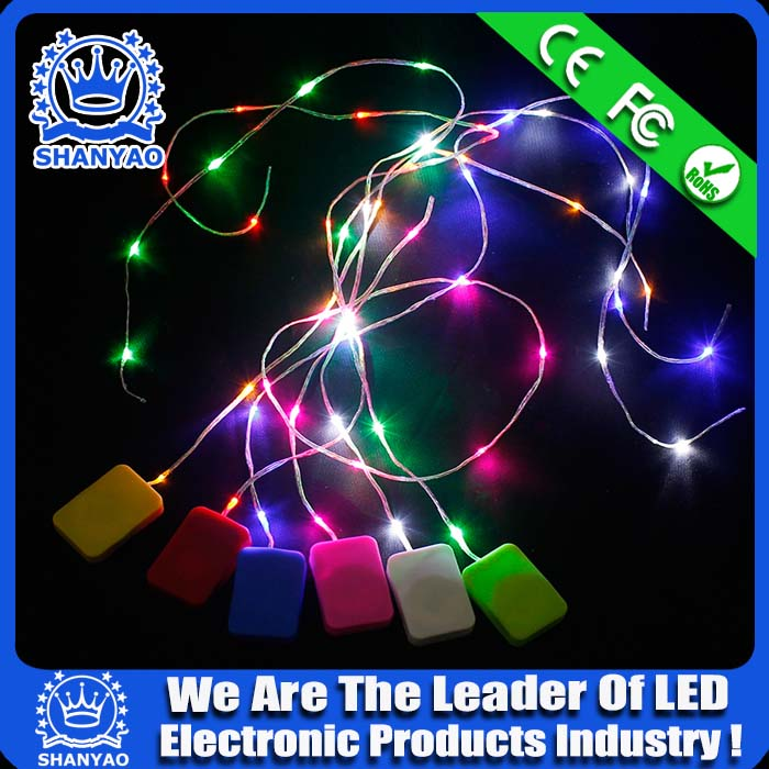 3V 6V Battery-operated LED Decorative Light Strip For Decorating Tent etc Products
