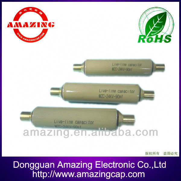 12KV 20PF high voltage high frequency ceramic capacitor for PD measurement