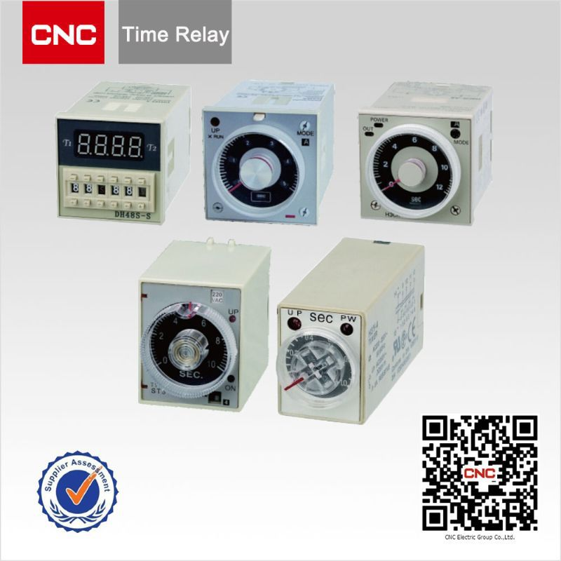 China supplier 12v,24V,220v AH3 Time Relay/Timer