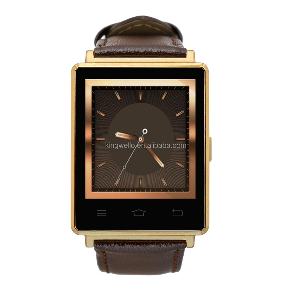 2016 High Quanlity D6 Sim Card Smart Watch Phone With Heart Rate