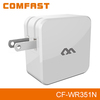 2015 New COMFAST CF-WR351N Portable 300Mbps WiFi Network Lan Extender with Charing Port for business trip