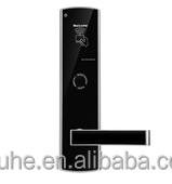 New Zinc Alloy and 304 Stainless steel Keyless Digital Hotel Door Lock Intelligent Lock with Smart RFID Card
