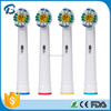 factory direct sales best travel toothbrush head for oral B Precision Clean EB18-4, SB-18A