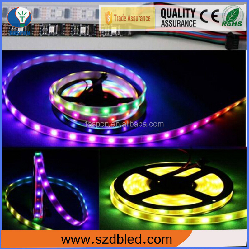 PU Glue Wholesale Alibaba high lumen IP65 14.4w/m 12v flexible strip 5050 led tape waterproof
