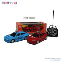 4 CH RC Car With Light RC Police Car For Sale