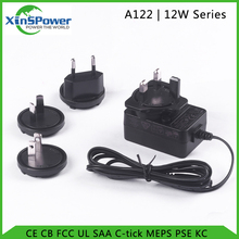 12W interchangeable plug adaptor 12v 3a ac dc power adapter with Interchangeable Plugs