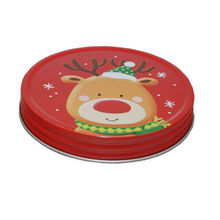 Screw Metal Round Cap Tin Box