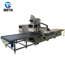 Large supply !! Automatic loading and unloading cnc engraving milling machine nesting 1218 router sculpture