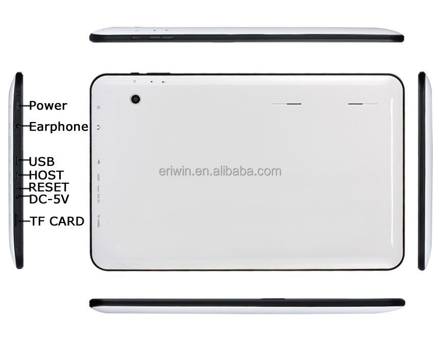 Tablet pc 10.1 inch Allwinner A33 quad core 1024*600, 1GB/16GB, bulk wholesale android tablet pc distributors--ella