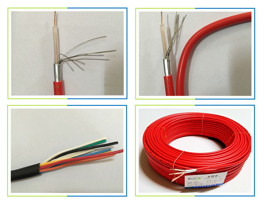 Soil Heat Cable For Low Voltage : Pvc jacket and low voltage type electric wire heating