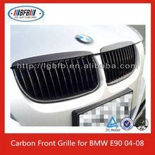 Euro Style Replacement Carbon Black Front Grille For BMW E90 04-08 pre-facelift 3 Series