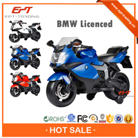 Hot selling licensed kids ride on plastic motorcycle for sale