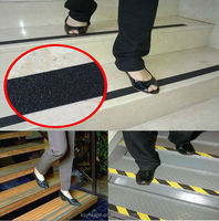 Strong Adhesion And Durable Viscosity Black Waterproof PVC Anti-Slip Tape For Floor