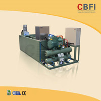 CE Approved Industrial Ice Block Making Machine for UK Middle Man